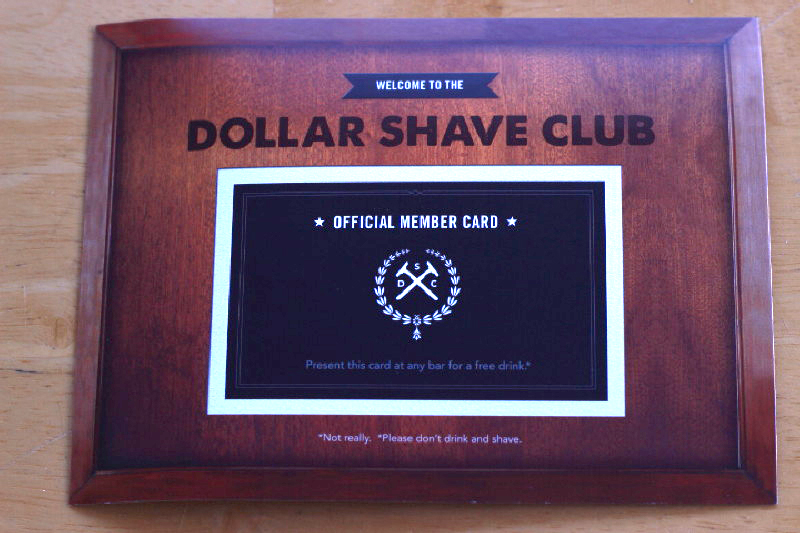 humour of the dollar shave club